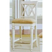 American Drew Camden 25 Inch Splat Back Bar Stool in Buttermilk