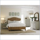 American Drew Ashby Park Woven Panel Bed 3 Piece Bedroom Set