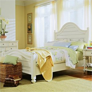American Drew Camden Panel Bed in Buttermilk Finish