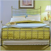 American Drew Camden Metal Bed in Nickel Finish