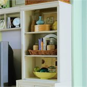 American Drew Camden Wood End Unit Top in Buttermilk Finish