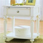American Drew Camden Leg Nightstand in Buttermilk