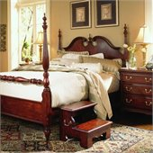 American Drew Cherry Grove Low Poster Bed 2 Piece Bedroom Set