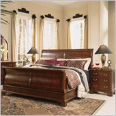 American Drew Cherry Grove Sleigh Bed 2 Piece Bedroom Set
