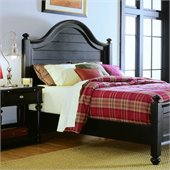 American Drew Camden Black Panel Bed 2 Piece Bedroom Set