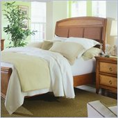 American Drew Antigua Upholstered Panel Bed 2 Piece Bedroom Set