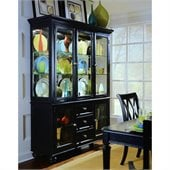 American Drew Camden Black China Cabinet