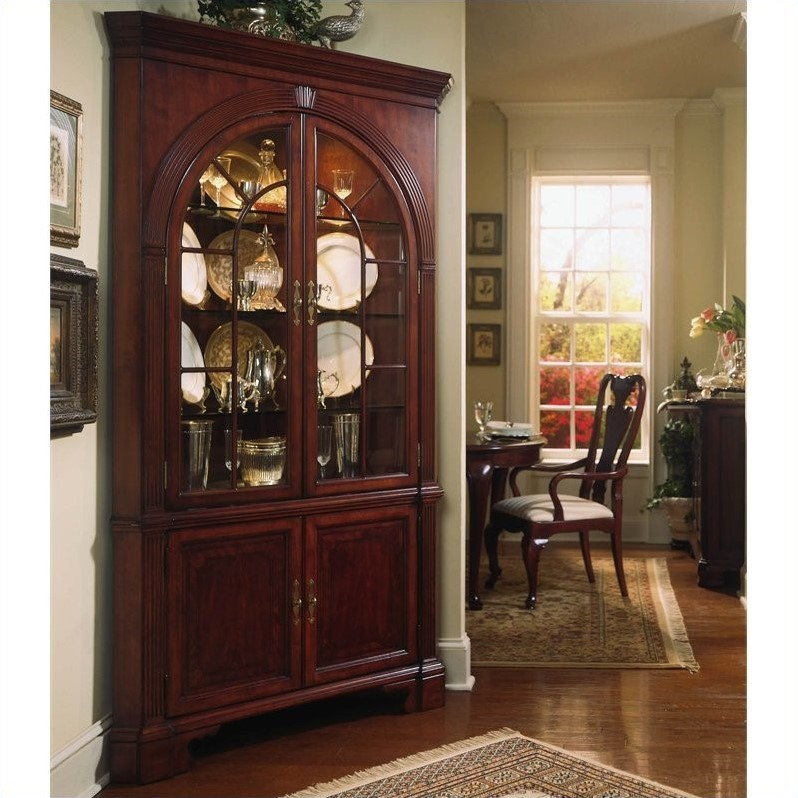 Gt dining room furniture gt china cabinet gt cherry china cabinet