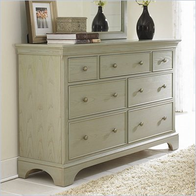 American Drew Ashby Park 7 Drawer Double Dresser