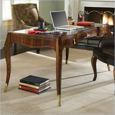 American Drew Bob Mackie Signature Wood Writing Desk in Rosewood