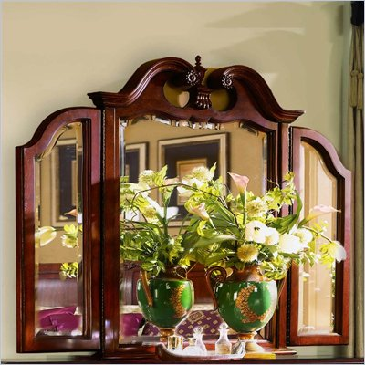 American Drew Cherry Grove Tri-Fold Mirror