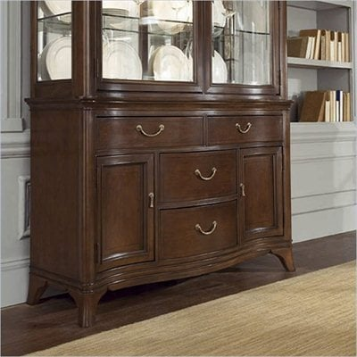 American Drew Cherry Grove Buffet Base in Mid Tone Brown