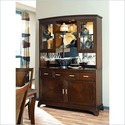 American Drew Essex Buffet Complete in Mink
