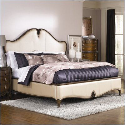 American Drew Jessica McClintock Couture Leather Low Profile Bed