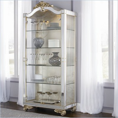 American Drew Jessica McClintock Couture Curio Cabinet