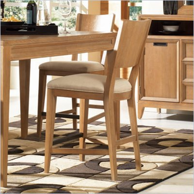 American Drew Sedona Counter Height Barstool in Dusty Oak Finish