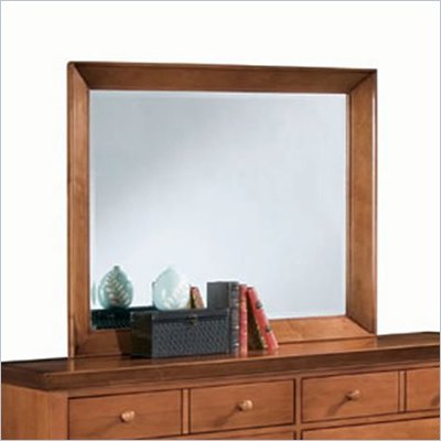 American Drew Sterling Pointe Landscape Mirror in Cherry