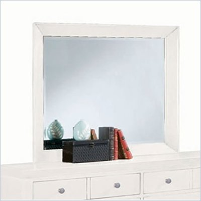 American Drew Sterling Pointe Landscape Mirror in Off White