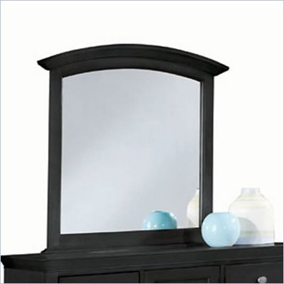 American Drew Sterling Pointe Vertical Mirror in Black