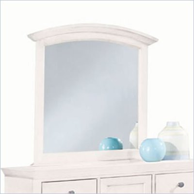 American Drew Sterling Pointe Vertical Mirror in White