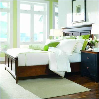 American Drew Sterling Pointe Panel Bed in Cherry Finish