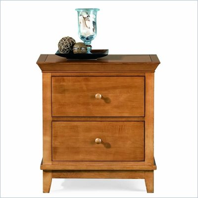 American Drew Sterling Pointe Two Drawer Nightstand in Maple