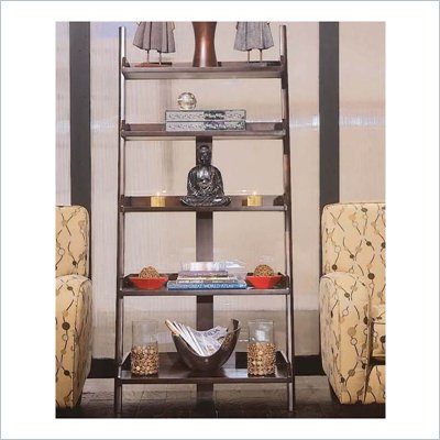 American Drew Tribecca Wall Storage Ladder Bookcase