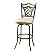 Pastel Furniture Willow Bridge 26 Counter Stool in Topanga Brown