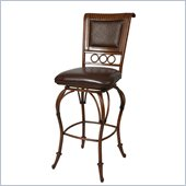 Pastel Furniture Rio Branco 26 Counter Stool in Stallion Brown