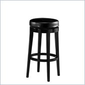 Pastel Furniture Richfield 30 Backless Bar Stool in Feher Black