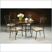 Pastel Furniture Atrium 5 Piece Topanga Dining Set