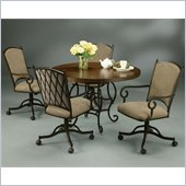 Pastel Furniture Atrium Elegant Wood Dining Table Set