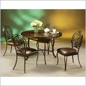 Pastel Furniture Island Falls Hard Wood Dining Set