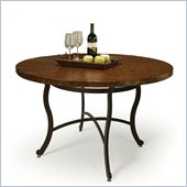 Pastel Furniture Island Falls Copperstone Dining Table in Autumn Rust