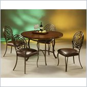 Pastel Furniture Island Falls Hammered Copperstone Dining Set