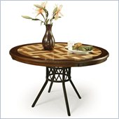 Pastel Furniture Ravenwood Wood Dining Table in Autumn Rust