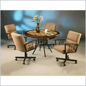 Pastel Furniture Ravenwood Caster Wood Dining Set