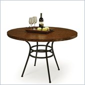 Pastel Furniture Oxford Copperstone Dining Table in Roletta Brown