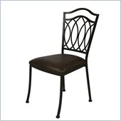 Pastel Furniture Westport Coffee Side Chair in Roletta Brown