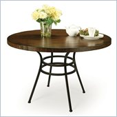 Pastel Furniture Westport Hard Wood Dining Table in Roletta Brown