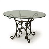 Pastel Furniture Magnolia Dining Table in Autumn Rust
