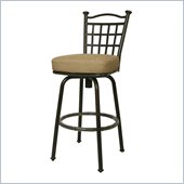 Pastel Furniture Bay Point 30 Outdoor Swivel Bar Stool