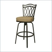 Pastel Furniture Westport 30 Outdoor Swivel Bar Stool