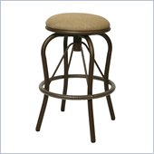 Pastel Furniture Bushnell 30 Outdoor Backless Swivel Bar Stool