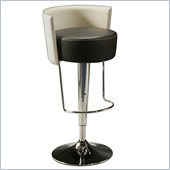 Pastel Furniture Anaquest Hydraulic Bar Stool in Black