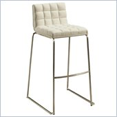 Pastel Furniture Donnakent 26 Counter Bar Stool in Ivory