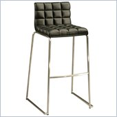 Pastel Furniture Donnakent 26 Counter Bar Stool in Black