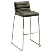 Pastel Furniture Dominica 30 Bar Stool in Black