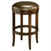 Pastel Furniture Naples Bay 26 Counter Backless Bar Stool in Cherry