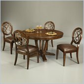 Pastel Furniture Devon Coast 5 Piece Dinette w/ Side Chairs